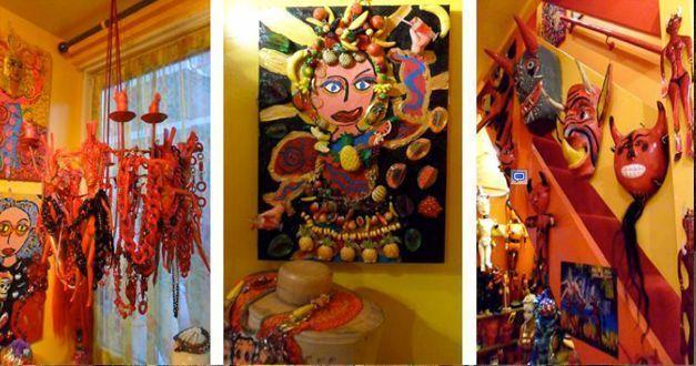 Rojo, turquesa y amarillo: el mundo de Sue Kreitzman